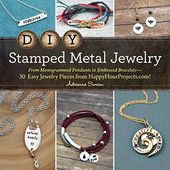 DIY Stamped Metal Jewelry: From Monogrammed