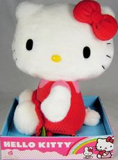 Hello Kitty - Red Jumpsuit Berries - Plush