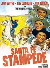 The Three Mesquiteers: Santa Fe Stampede