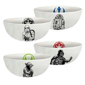 Star Wars - Ceramic Bowl 4pc Set
