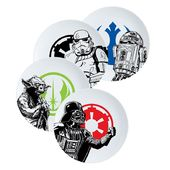 Star Wars - Ceramic Dinner Plate 4pc Set