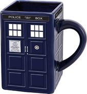 Doctor Who - TARDIS Sculpted Ceramic Mug