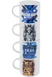 Doctor Who - Stacking Ceramic Mug Set