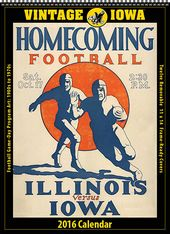 Iowa Hawkeyes - 2016 Vintage Football Calendar