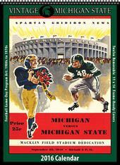 Michigan State Spartans - 2016 Vintage Football