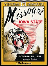 Missouri Tigers - 2016 Vintage Football Calendar