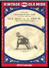 Ole Miss Rebels - 2016 Vintage Football Calendar