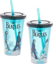 The Beatles - Abbey Road 18 oz Cup w/ Straw