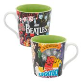 The Beatles - Album Collage 12 oz Ceramic Mug