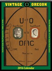 Oregon Ducks - 2016 Vintage Football Calendar