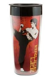Bruce Lee - 16 oz. Plastic Travel Mug