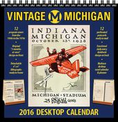 Michigan Wolverines - 2016 Vintage Desktop