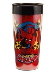 Marvel Comics - Spiderman - 16 oz. Plastic Travel
