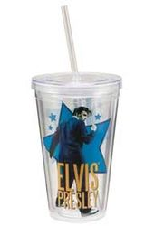 Elvis Presley - Big Star - 18 oz. Plastic Cold