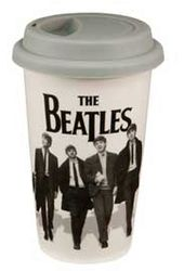 The Beatles - Black & White: Double Wall 12 oz.