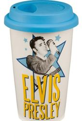Elvis Presley - Double Wall 12 oz. Ceramic Travel