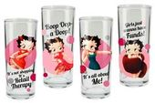 Betty Boop - 4 Piece 10 oz. Glass Set