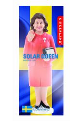 Queen Silvia of Sweden - Solar Waving Queen