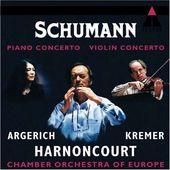 Schumann: Piano Concerto and Violin Concerto