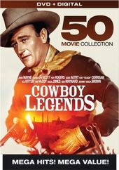 Cowboy Legends: 50-Movie Collection (10-DVD)