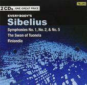 Everybody's Sibelius - Symphonies No. 1, No. 2 &