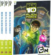 Ben 10: Alien Force - Volumes 1-3