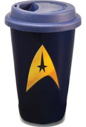 Star Trek - 12 oz. Double Wall Ceramic Travel Mug