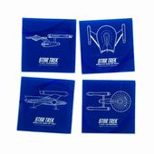 Star Trek - 4 pc. Glass Coasters Set