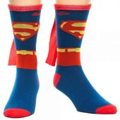DC Comics - Superman - Caped Crew Socks