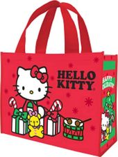 Hello Kitty - Happy Holidays - Large Recycled