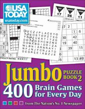 Puzzles: USA Today Jumbo Puzzle Book 2: 400 Brain
