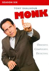 Monk - Season 6 (4-DVD)