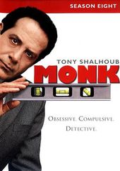 Monk - Season 8 (4-DVD)