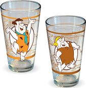 The Flintstones - 2pc 16oz Pint Glasses
