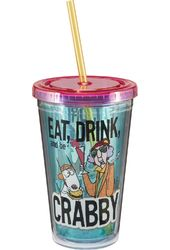 Maxine - Acrylic 18 oz. Travel Cup