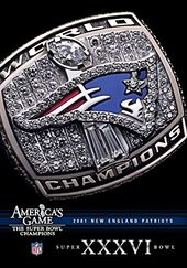 Football - NFL America's Game: 2001 Patriots