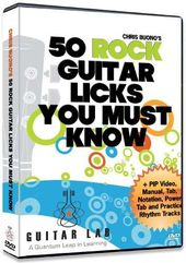 50 Rock Guitar Licks You Must Know!