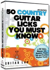 50 Country Guitar Licks You Must Know!