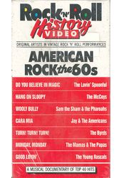 American Rock the 60s