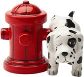Puppy - Where's The Fire? - Salt & Pepper Shakers