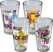 Archer - Statements Pint Glass 4-Pack