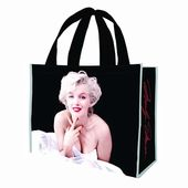 Marilyn Monroe - Large Black Recycled Shopper Tote