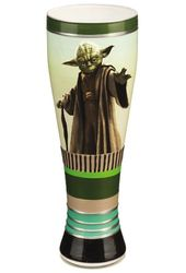 Star Wars Yoda 20 oz. Hand Painted Glass