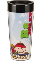Peanuts - Be Merry: 16 oz. Travel Mug