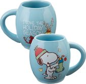 Peanuts - Snoopy 18 oz. Oval Holiday Mug