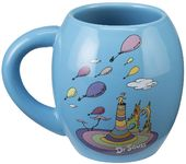 "Dr. Seuss ""Oh the Places"" 18 oz. Oval Ceramic Mug"