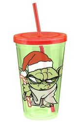 Star Wars - Yoda: Holiday 18 oz. Plastic Cup With