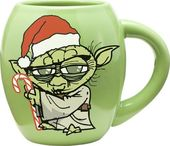 Star Wars - Yoda: Holiday 18 oz. Oval Ceramic Mug