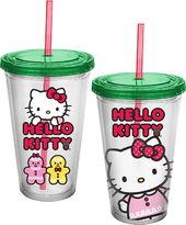 Hello Kitty - Holiday 18 oz. Acrylic Cup