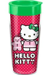 Hello Kitty - Holiday 16 oz. Plastic Travel Mug